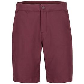 Marmot North McDowell Shorts Herre burgundy